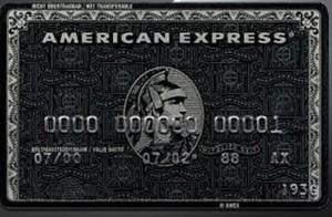 American express Centurion luottokortti
