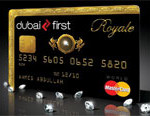 Dubai first royale mastercard